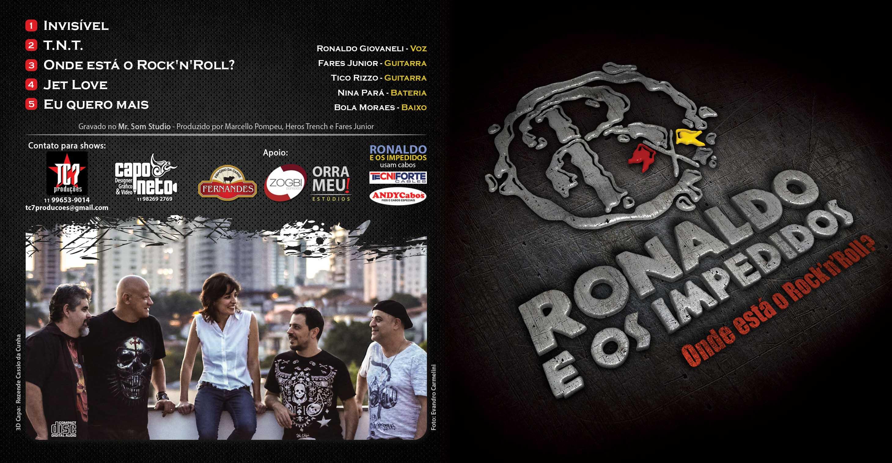 ARTE CD RONALDO